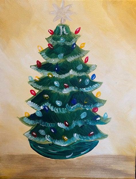 Retro Christmas Tree002