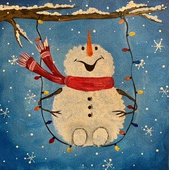 Swinging Snowman