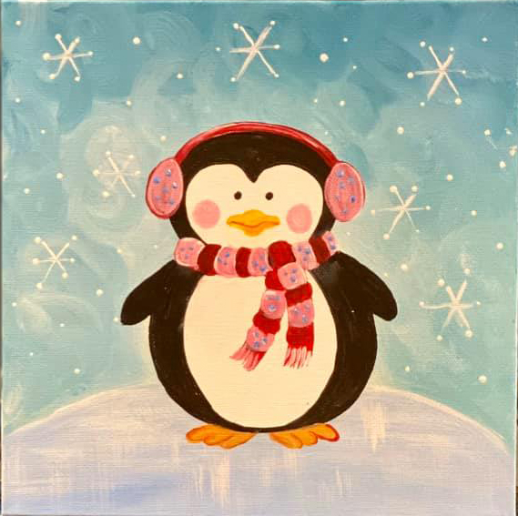 take home kit-playful penguin