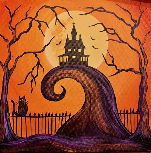 moonlit manor