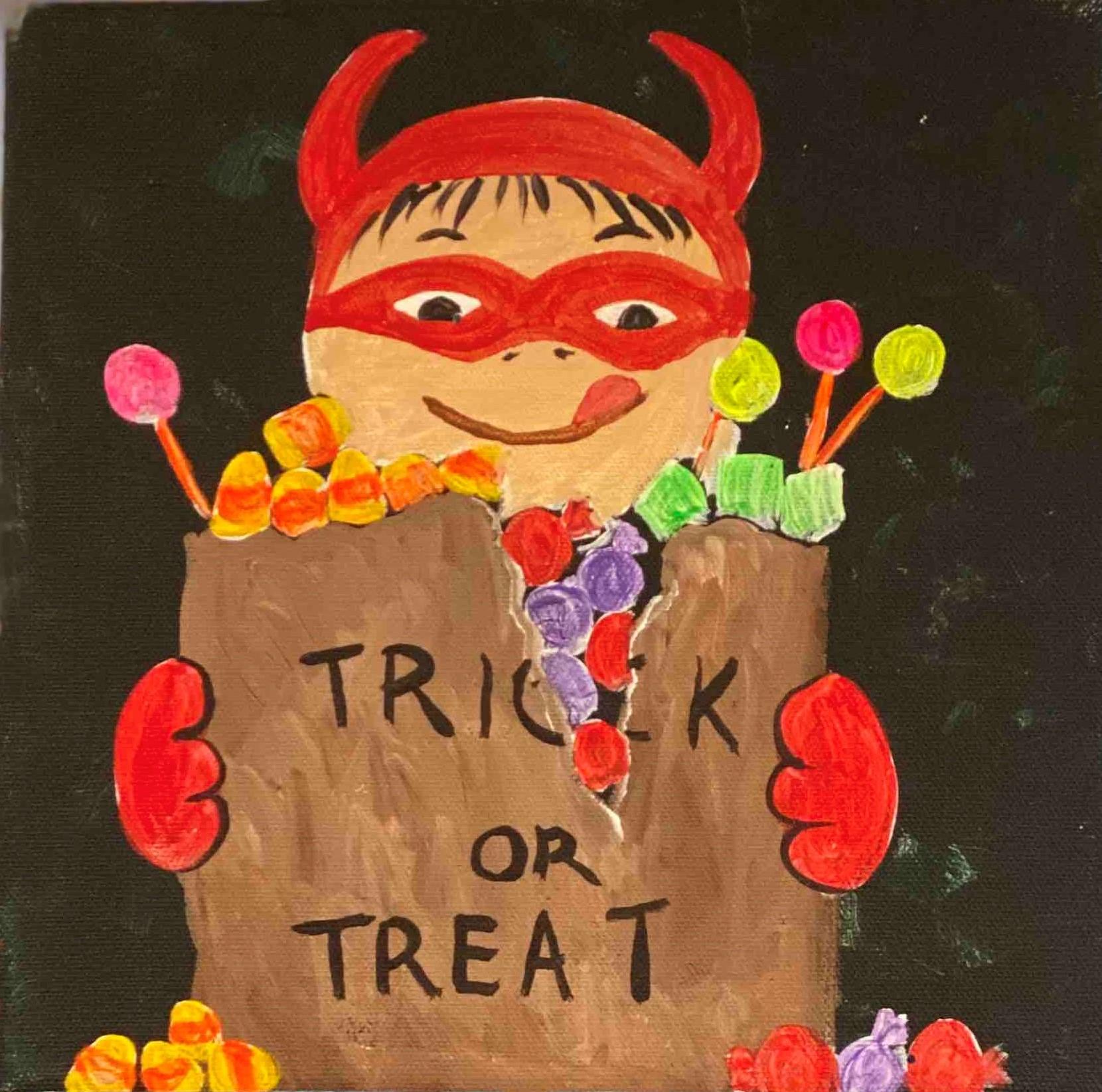trick or treat devil